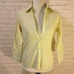 Brooks Brothers pinstripe blouse